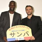 『サンバ』オリヴィエ・ナカシュ監督、オマール・シー舞台挨拶《東京国際映画祭2014》
