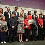 イザベル・ユペール団長を前に浅野忠信、是枝監督、深田監督も感動しきり!フランス映画祭2016、華々しく開催!