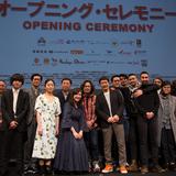 第 14回大阪アジアン映画祭開幕! オープニング作品『嵐電』世界初上映で鈴木卓爾監督、主演の井浦新をはじめ  チーム「嵐電」が集結!