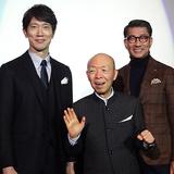 中井貴一、坂田利夫との共演は「36年の芸歴の中で最高に幸せ!」『嘘八百』舞台挨拶