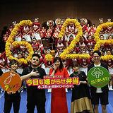 日本一の200人の大パフォーマンスに篠原涼子感動!! 『今日も嫌がらせ弁当』公開直前イベント