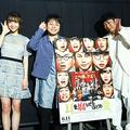 NON STYLEが地元・大阪で爆笑舞台挨拶を実施!!『耳を腐らせるほどの愛』